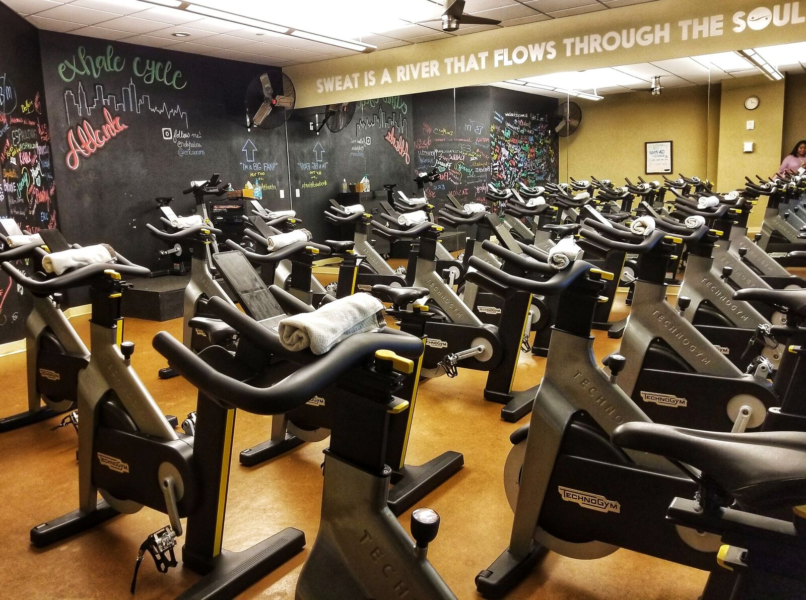 Loews Atlanta Hotel Exhale gym