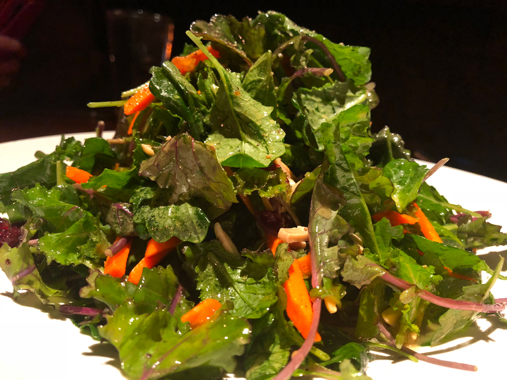 Stoney River Baby Kale Salad