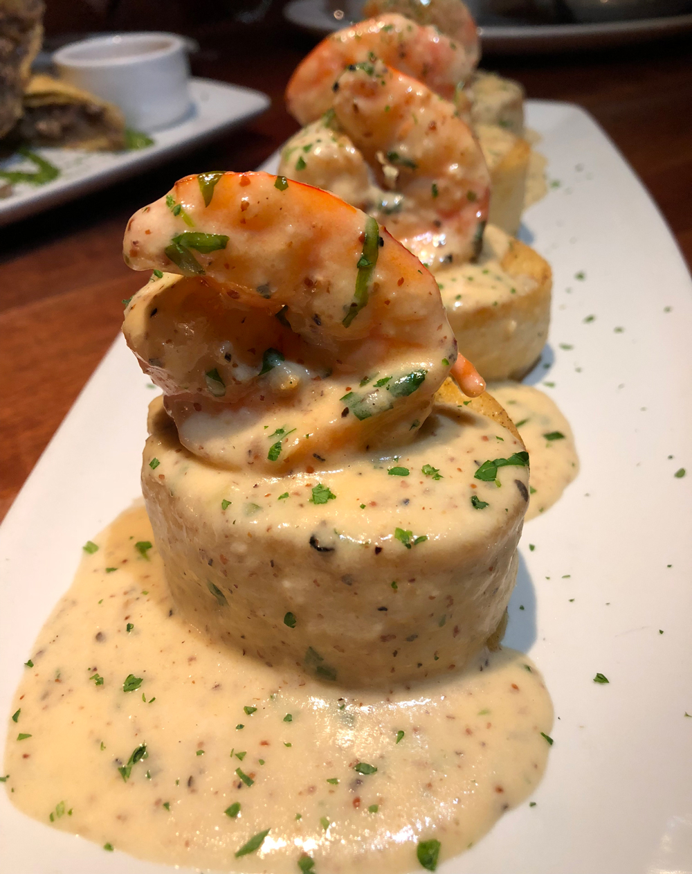Stoney River Shrimp on Country Toast