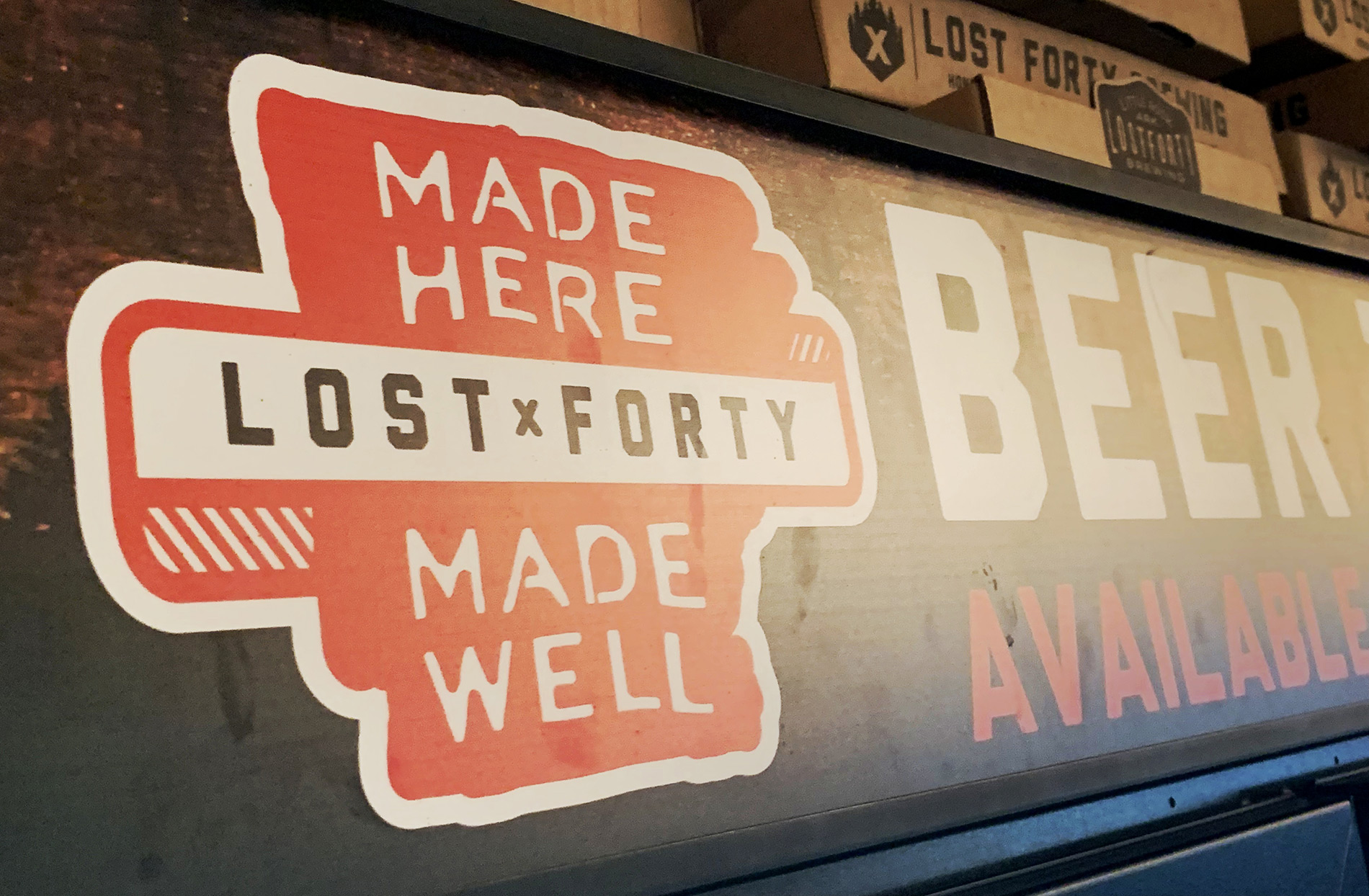 Lost Forty Brewery Little Rock Arkansas