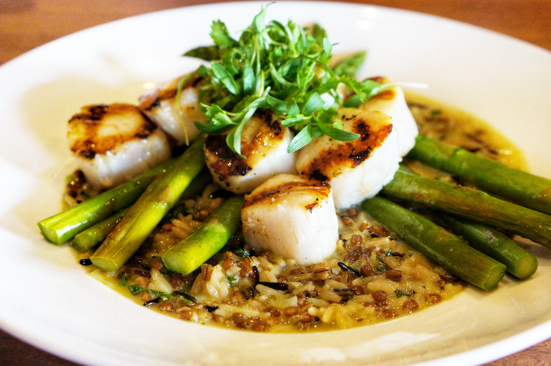 Seasons 52 Wood Grilled Sea Scallops